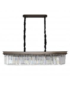 Lampa wisząca Sparkle single kryształowa MP0097A - Step Into Design
