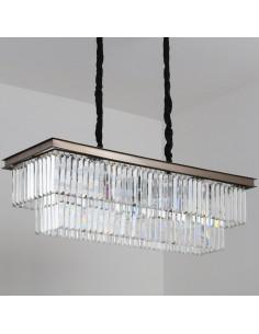 Lampa wisząca Sparkle double kryształowa MP0097B - Step Into Design