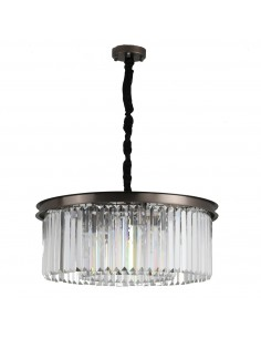Lampa wisząca Sparkle round kryształowa MP0097 - Step Into Design