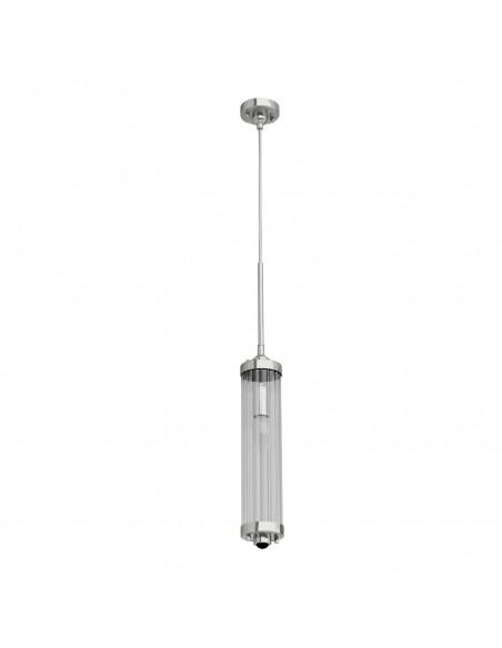 Lampa wisząca Fiatto I Cromo chrom kryształowa - Orlicki Design