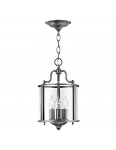 Gentry lampa wisząca 3 szara HK-GENTRY-P-S-PW - Hinkley