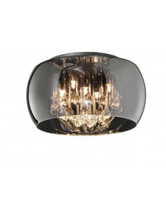Lampa sufitowa z kryształkami Vapore 611210506 Trio