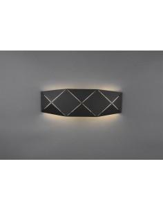 Kinkiet czarny LED Zandor 223510232 Trio
