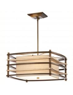 Moxie lampa wisząca 2 brązowa KL-MOXIE-P-S - Kichler