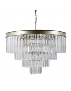 Lampa wisząca kryształowa Verdes PND-44372-8-CHMP-GLD Italux