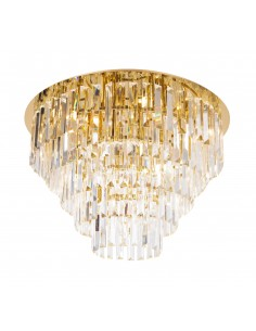 Lampa sufitowa złota Monaco C0206 MaxLight