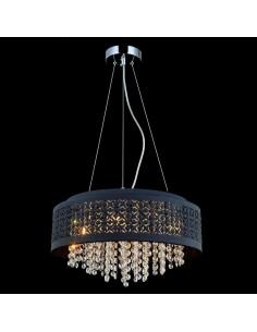 Lampa wisząca Doris MDM-2587/4BK Italux