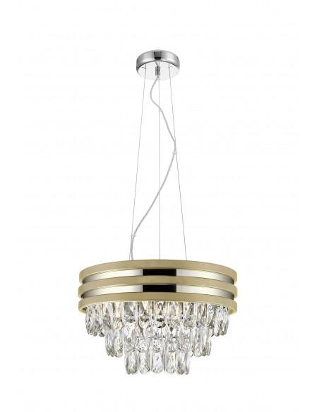 Lampa wisząca Naica złota P0525-04A-F4V6 Zuma Line