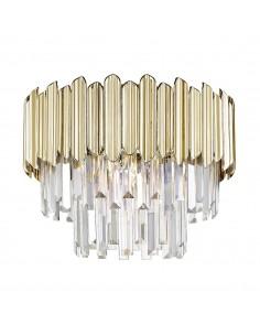 Lampa sufitowa złota Gladius C0535-05B-F4J7 Zuma Line