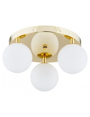 Flavio lampa sufitowa złota IP44 kule 1413 Argon