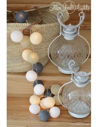 Świecące kule LED Misty - Cotton Ball...
