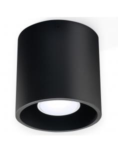 Orbis tuba downlight czarna 1 punktowa GU10 SL.0016 - Sollux
