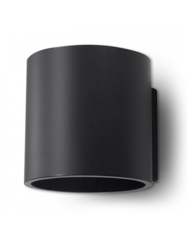Kinkiet Orbis czarny SL.0048 - Sollux