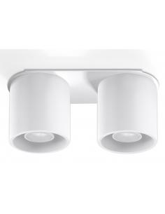 Downlight tuba ORBIS 2 punktowa biała SL.0056 - Sollux