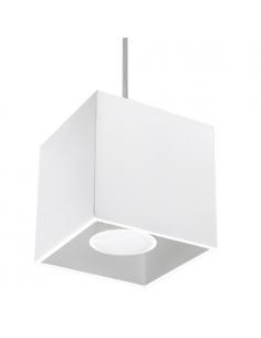 Lamp wisząca Quad biała SL.0062 - Sollux