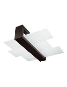 Plafon Feniks 2 punktowy Wenge SL.0074 - Sollux