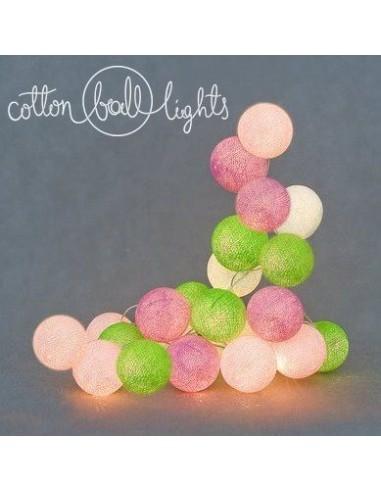 Świecące kule LED Spring - Cotton...