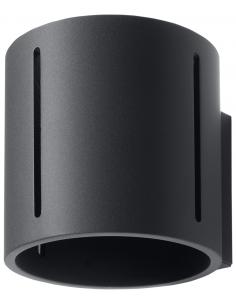 Kinkiet Inez czarny 2 punktowy tuba SL.0353 - Sollux