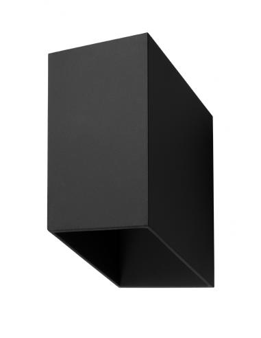Kinkiet TUNNEL Czarny SL.0378 - Sollux