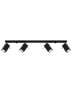 Spot Merida listwa regulowana 4 punktowa czarna SL.0459 - Sollux