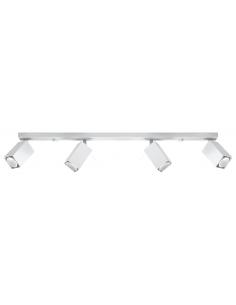 Listwa regulowana biała 4 punktowa MERIDA 4L spot SL.0463 - Sollux