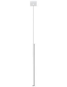 Lampa wisząca 1 punktowa PASTELO Biała SL.0465 - Sollux