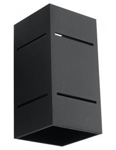 Kinkiet Blocco czarny SL.0478 - Sollux