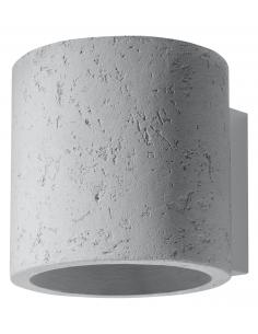 Kinkiet betonowy Orbis szary industrialny SL.0486 - Sollux