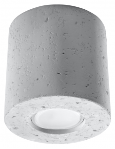 Downlight tuba ORBIS beton SL.0488 - Sollux