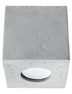 Downlight tuba Quad beton SL.0489 - Sollux