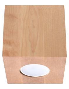 Downlight tuba Quad drewno SL.0493 - Sollux
