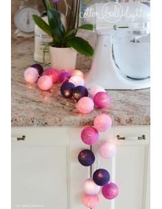 Świecące kule LED Violets -...