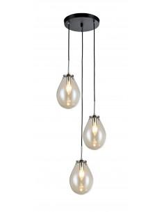 Lampa wisząca Fondi 3 szklana LP-1214/3P - Light Prestige