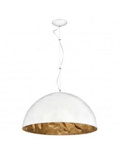 Lampa wisząca biało złota Simi duża nowoczesna kompozytowa 766E - Aldex
