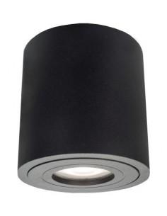 Downlight Faro XL tuba natynkowa IP65 czarna LP-6510/1SM XL IP65 BK - Light Prestige