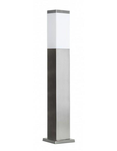 Lampa stojąca ogrodowa Inox Kwadratowa SS802-650 Stal nierdzewna IP44 - Su-ma