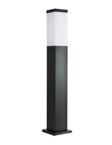 Lampa stojąca ogrodowa Inox Kwadratowa Black SS802-650 BL czarna IP44 - Su-ma