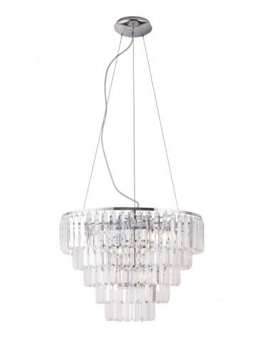 Lampa wisząca Monaco kryształki P0260...