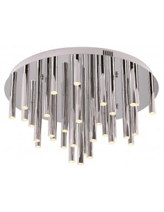 Plafon LED ORGANIC CHROM...