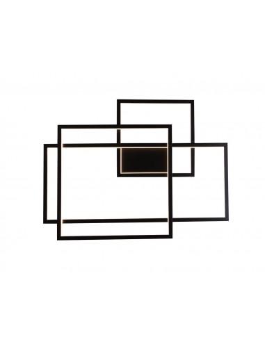 Kinkiet Geometric LED czarny W0233 -...