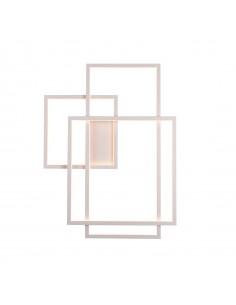 Kinkiet Geometric LED biały...