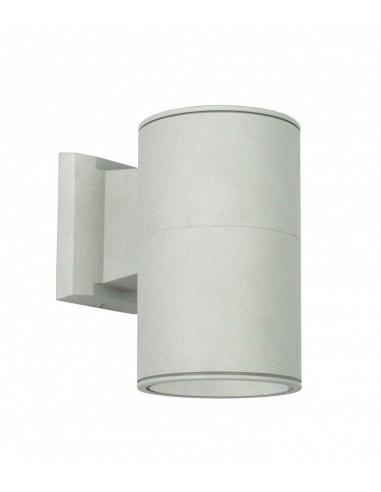 Kinkiet elewacyjny Adela 7002 AL srebrny IP54 - Su-ma