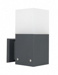 Kinkiet elewacyjny Cube Max CB-MAX K DG Ciemny popiel IP44 - Su-ma