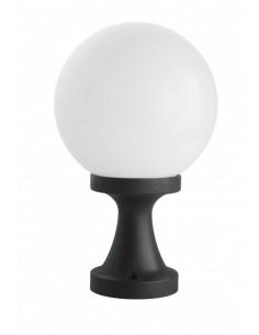 Lampa stojąca ogrodowa KULE CLASSIC II K 4011/1/KF Czarny IP43 - Su-ma