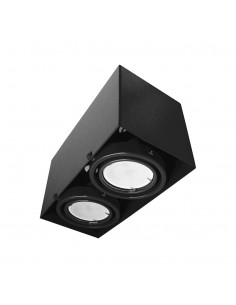 Downlight BLOCCO 2 czarny...