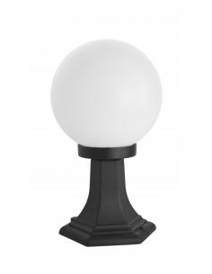 Lampa stojąca ogrodowa KULE CLASSIC K 4011/1/K 200 Czarny lub patyna IP43 - Su-ma