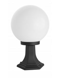 Lampa stojąca ogrodowa KULE CLASSIC K 4011/1/K 250 Czarny lub patyna IP43 - Su-ma