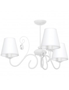 Lampa sufitowa SARA 3 biały...