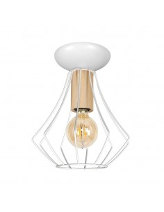 Lampa sufitowa WILL 1 biała...