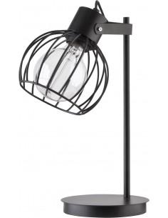 Lampka Luto koło czarna mat...